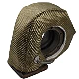 Heatshield Products 300078 Lava Turbo Shield Volcanic Turbo Heat Shield for T2 Flange (G25,27,28) Turbo Housings with Wastegate