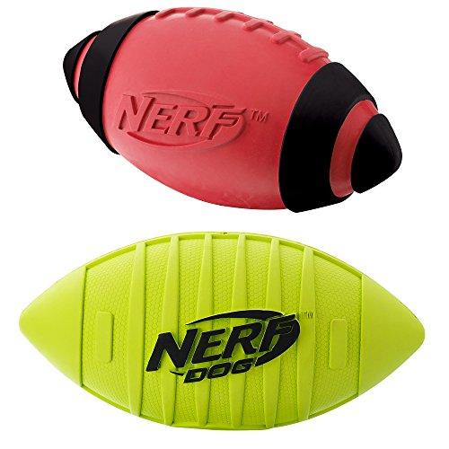 Nerf Dog Squeak Rubber Football product image