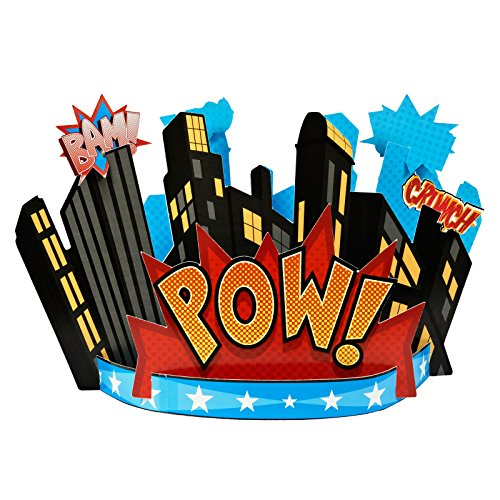 BirthdayExpress Superhero Comics Party Supplies - Centerpiece -