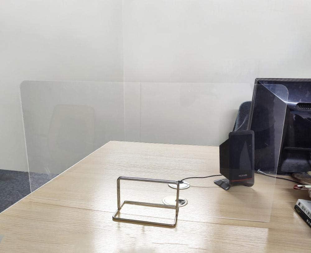 KARAEASY MAMPARA DE PROTECCIÓN METACRILATO,Guardia De Estornudos Divisor de Escritorio mampara protección Oficina PVC Pantalla para Mostrador60 * 30 cm: Amazon.es: Hogar