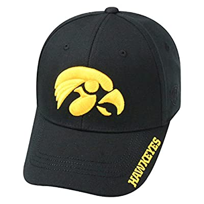 Top of the World NCAA-Premium Collection-One-Fit-Memory Fit-Hat Cap by Top of the World