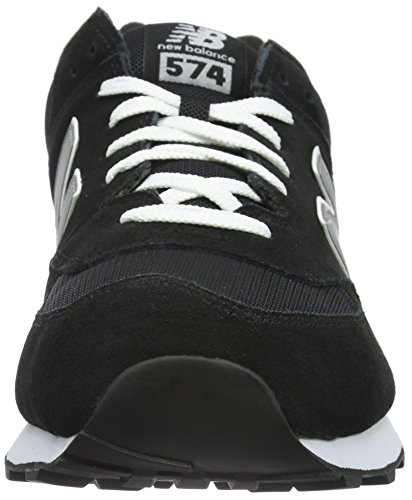 New Black Hombre Negro Balance Zapatillas Grey ML574 RxwqrpR