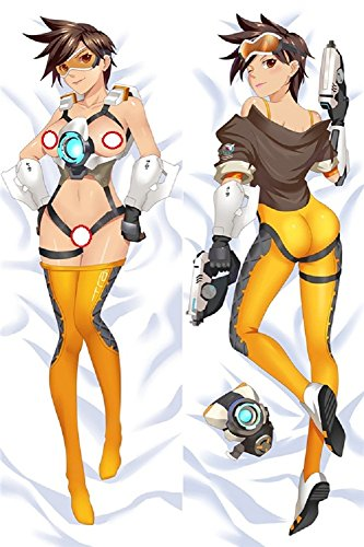 GB Arts Overwatch Tracer Uncensored Peach Skin 150cm x 50cm