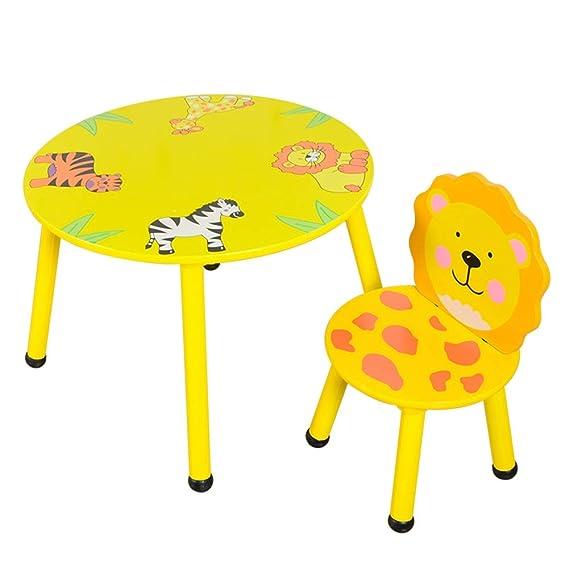 Amazon.com: LIANGJUN Taburete de mesa para niños, mesa de ...