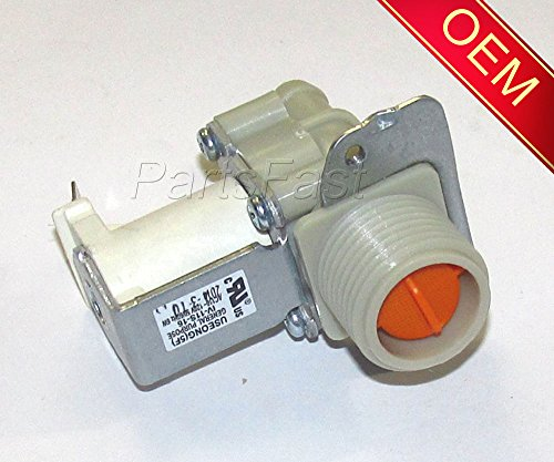 5220FR2006L OEM LG SINGLE SOLENOID HOT WATER WASHER VALVE __#parts.fast (Solenoid Hot Water)