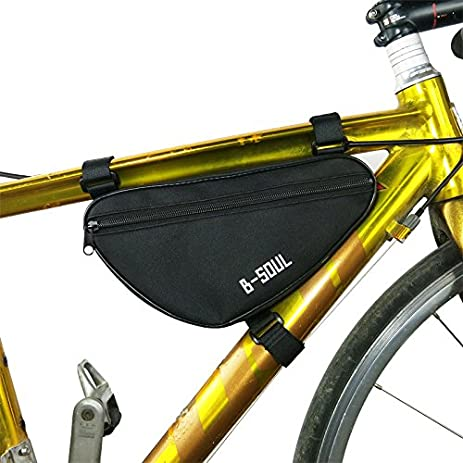 meeheng bag waterproof outdoor triangle bicycle front tube frame bag mountain bike pouch bike frame bag - Mountain Bike Frame Bag