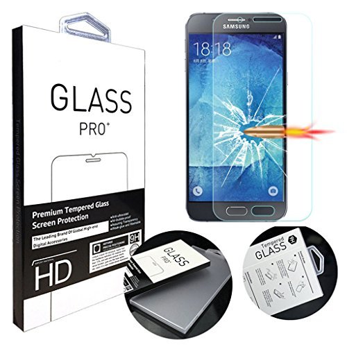 Tempered Glass Screen Protector for Samsung Galaxy A8 (Clear) - 8