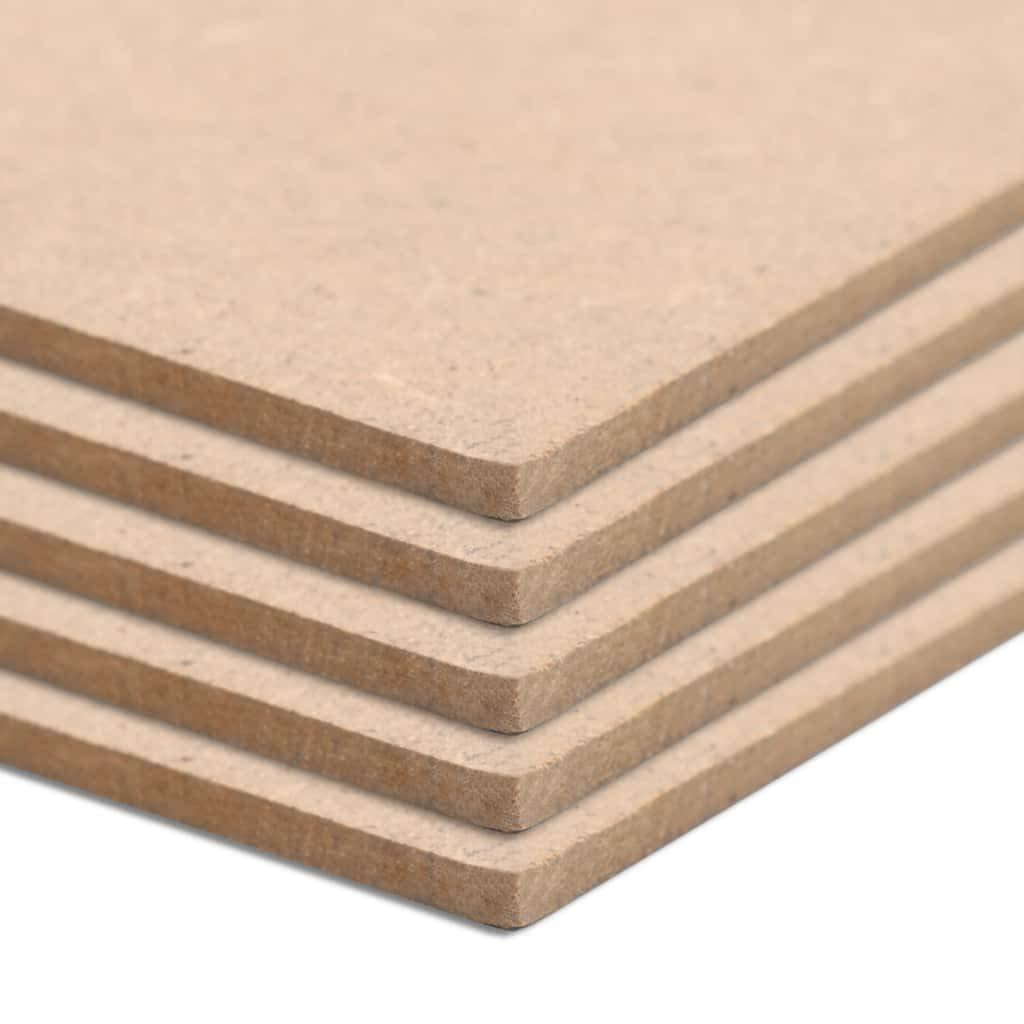 Estantes Festnight Tablero MDF Cuadradas Ideal para Molduras Arquitect/ónicas Paneles y Casas de Mu/ñecas 20 Unidades 60x60 cm 2,5 mm Armarios