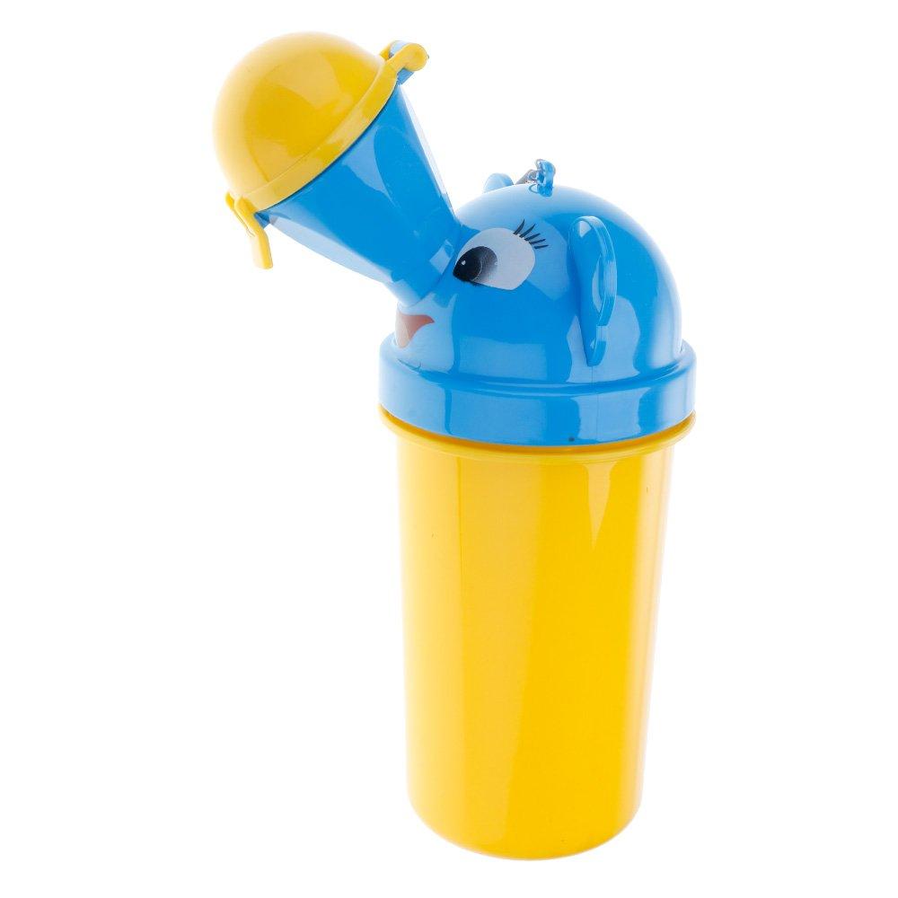 Singhi Tragbar Baby Kinder Potty Urinal WC Dringend fü r Camping/Supermarkt/'Krankenhaus/Autobahn/der Park/Die Groß en Geschä fte/Die Autos (Gelb)