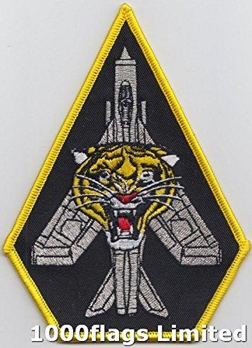 No 74 Squadron Royal Airforce RAF Lightning Jet Embroidered Badge