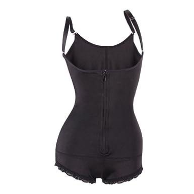 a18afa1b1 AVENBER Women Bodysuit Shapewear Waist Trainer Slimming Shaper Butt Lifter Body  Underwear at Amazon Women s Clothing store