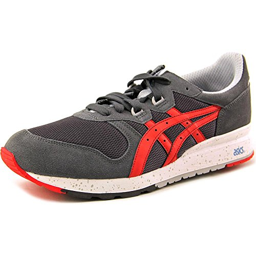 Asics Mens Gel Epirus Fashion Sneaker Dark Grey Fiery Red 13 M Us