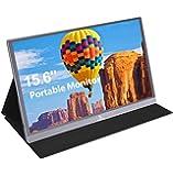 2020 [Upgraded] Portable Monitor - NexiGo 15.6 Inch Full HD 1080P IPS USB Type-C Computer Display, Eye Care Screen with…