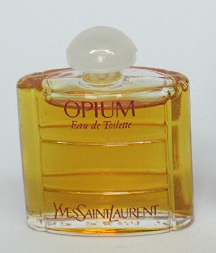 (Vintage Original Formula Opium Yves Saint Laurent Eau De Toilette Miniature .26oz Women's Perfume )