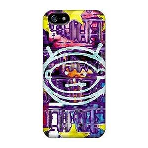 JamieBratt Iphone 5/5s Shock Absorbent Hard Cell-phone Case Customized Stylish U2 Zooropa Pattern [wlp16884eBul]