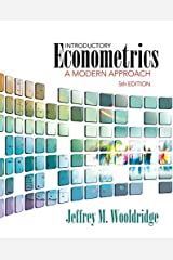 Introductory Econometrics: A Modern Approach (Upper Level Economics Titles) Hardcover