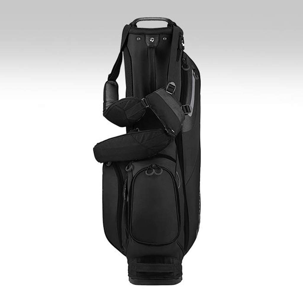 NTWXY Golf Bag, Available for Both Men and Women, 100% Waterproof, Black, 142×25×30cm