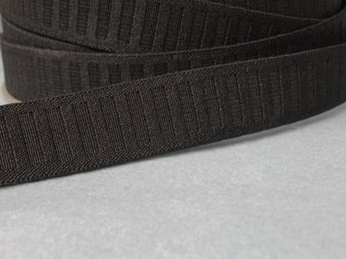 Roll Non Flat (Wholesale Flat Woven Non Roll Elastic - Black 1