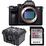 Sony a7R III 42.4MP Full-frame Mirrorless Interchangeable-Lens Camera 64GB Bundle