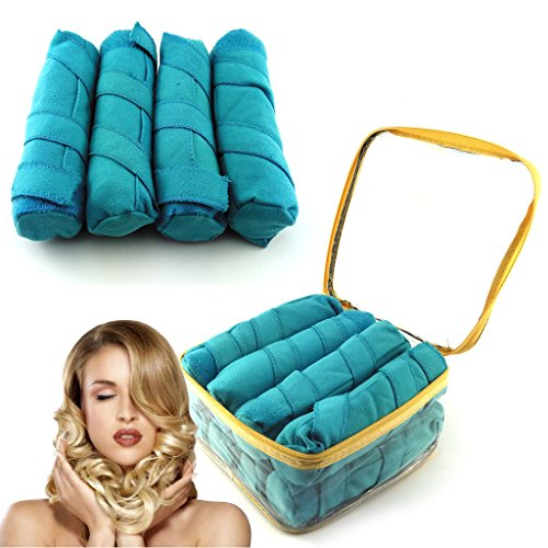 Sleep & Style Your Hair With Memory Foam Hair Rollers for Long Hair ~ As Seen on TV