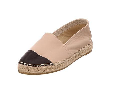 Vidorreta - Alpargatas de Cuero para Mujer, Color Negro, Talla 36 EU: Amazon.es: Zapatos y complementos