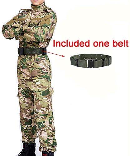 Hombres táctico EDR combate Uniforme Chaqueta camisa & Pantalones Costume Multicam MC para ejército militar, para Airsoft y Paintball, diseño de caza guerra Juego de torneado, color - Multicam, tamaño extra-large: Amazon.es:
