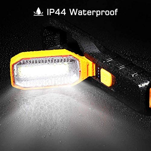 Gyj&mmm Rechargeable LED Work Light,Enjoydeal Flashlight Torch,4 Modes Super Bright Worklight Inspection for Car Repair, Household And Emergency Use