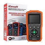 iCarsoft Multi-System Auto Diagnostic Tool MB V1.0 for Mercedes-Benz/Sprinter/Smart with Oil Reset (Orange)