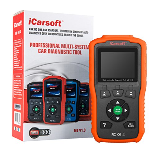 iCarsoft Multi-System Auto Diagnostic Tool MB V1.0 for Mercedes-Benz/Sprinter/Smart with Oil Reset (Orange) by iCarsoft (Image #9)