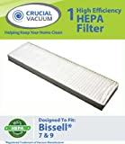 Bissell Style 7, Style 9 HEPA Filter; Compare to Bissell Part#32076; Designed and Engineered by Crucial Vacuum, Appliances for Home