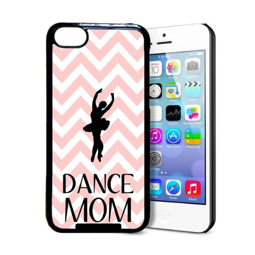 Dance Mom Baby Pink Zig Zag Cute Hipster iPhone 5c Case - Fits iPhone 5c