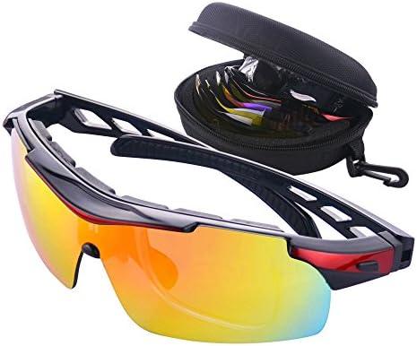 Gafas de Ciclismo Unisex Gafas de Sol de Deportivas Bici ...