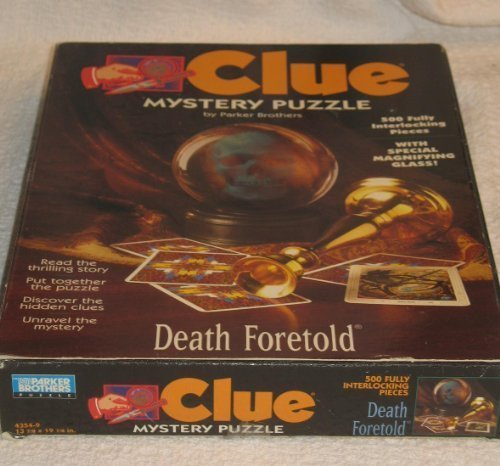 Clue Mystery Puzzle - Death Foretold ()