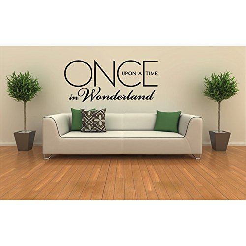 Letter a Wall Decor Sticker Once Upon a Time in Wonderland (Once Upon A Time In Wonderland Home)