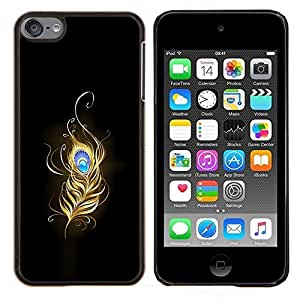 "Be-Star Único Patrón Plástico Duro Fundas Cover Cubre Hard Case Cover Para iPod Touch 6 ( Flaming Phoenix Feather"" )"