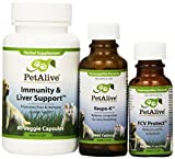 Petalive Fcv Protect; Immunity And Liver Support And Respo-k Ultrapack (one Of Each), 0.3 Units
