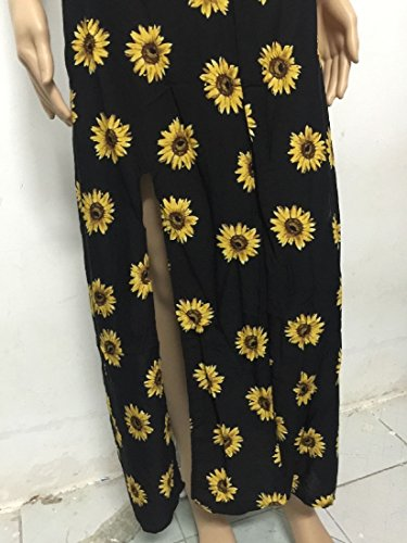 Spaghetti Sleeveless As Dress Coolred Picture Strap Printed Long Floral Womens w4nPqEB