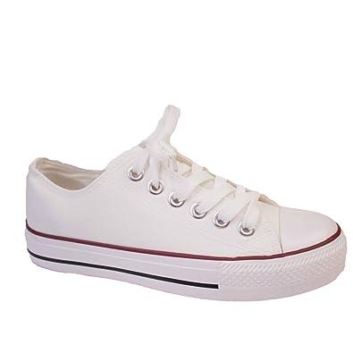 Haut-dessus chaussures chaussures de sport dans les chaussures à semelles de chaussures de toile plus élevés, rouge 39