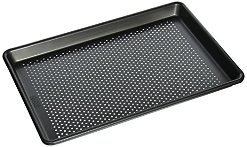 (Chicago Metallic Professional Perforated Cookie/Jelly-Roll Pan, 14.75-Inch-by-9.75-Inch)