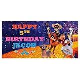 Coco Birthday Banner Party Backdrop Decoration