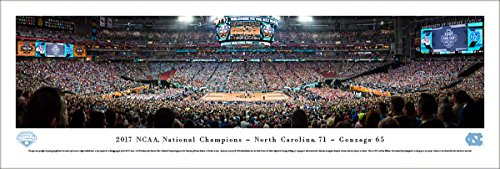 2017 NCAA Basketball Champions - North Carolina Tar Heels - Blakeway Panoramas (Basketball Championship Plaque)