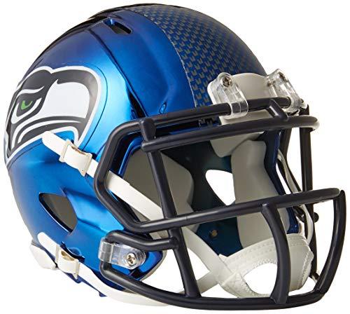 (Riddell Chrome Alternate NFL Speed Mini Helmet Seattle Seahawks)