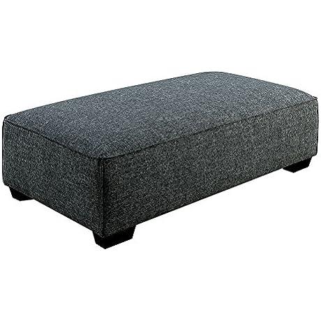 Furniture Of America CM6120 OT Jaylene Gray Ottoman Living Room