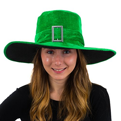 Funny Party Hats Saint Patricks Day Hat - Leprachaun Hat - Pimp Hat - Lucky Charm Hat - ST. Patricks Day Hats (ST Patrick Hat)
