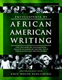 Encyclopedia of African American Writing, Shari Dorantes Hatch, 1592372910