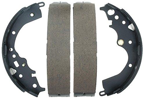 ACDelco 17804B Professional Bonded Rear Drum Brake Shoe Set (Toyota Sienna Brake Shoe)