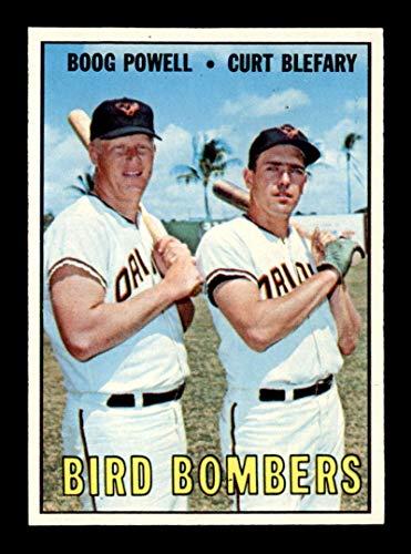1967 Topps #521 Boog Powell/Curt Blefary Bird Bombers NM X1712440