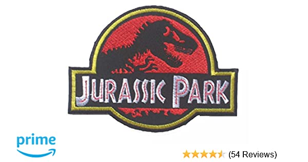 Amazon Jurassic Park LOGO OFFICER Sew Ironed Patch Badge Embroidery J 01