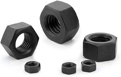 comdox 320-pack Phillips Cruz washer-head m/áquina tornillos tuercas surtido Kit M3/M4/rosca tama/ño Negro /óxido de acabado 8/mm a 20/mm Longitud totalmente roscados de acero al carbono