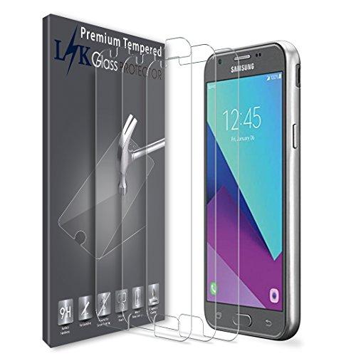 LK [3 Pack] Screen Protector for Samsung Galaxy J3 Emerge / J3 Prime / J3 2017 / J3 Mission / J3 Eclipse / J3 Luna Pro/Sol 2 / Amp Prime 2 / Express Prime 2, Tempered Glass